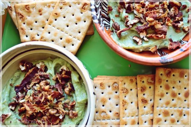 pasta de avocado cu nuca si bacon (1)
