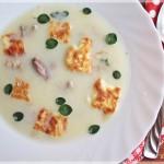 Supa de iepure cu usturoi