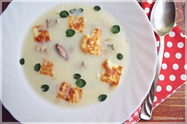 supa de iepure cu usturoi julia child