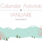 Calendar Activitati – Ianuarie