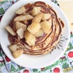 Pancakes cu ghimbir si pere