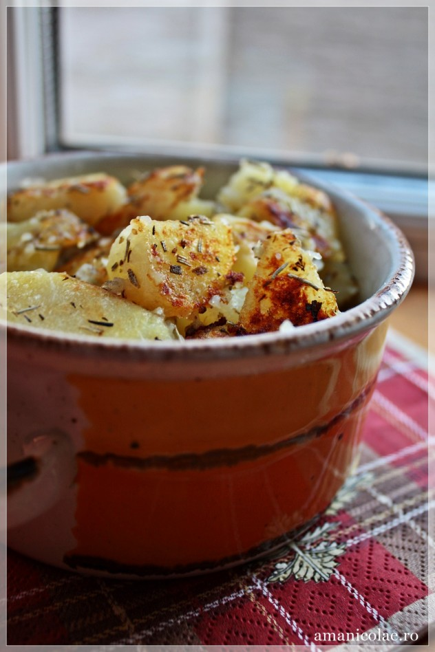 cartofi cu lamaie si ierburi aromatice