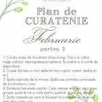 Plan de curatenie – februarie 2