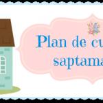 Plan de curatenie saptamanala – 9 mai