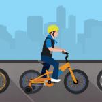Cu bicicleta pe drum. Siguranta rutiera pentru copiii aflati pe roti