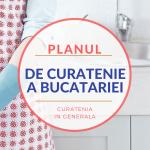 Planul de curatenie a bucatariei