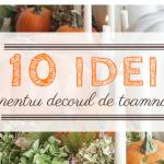 10 idei pentru decorul de toamna