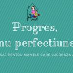 Progres, nu perfectiune