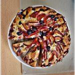 Prajitura cu prune si mac