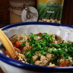 Salata de quinoa cu naut si dovleac copt