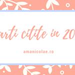Carti citite 2016