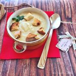 Supa-crema de pastarnac si usturoi