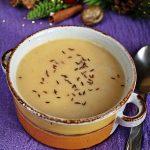 Supa crema de conopida cu chimen