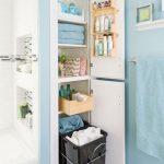 15 idei inteligente de depozitare pentru baie