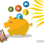 10 idei de economisire pentru lunile de vara