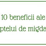 10 beneficii ale laptelui de migdale