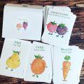 7. Cartonase trilingve cu legume si fructe pentru copii