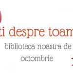 Carti despre toamna – biblioteca noastra de octombrie
