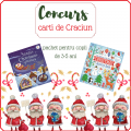 Concurs – Carti de Craciun – pachet pentru copii de 3-5 ani